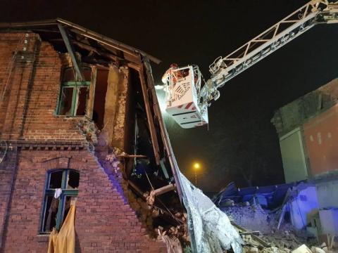Katastrofa w Sosnowcu. Sądeccy ratownicy w akcji