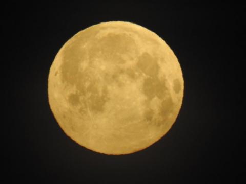 To była niezwykła noc. Na niebie zajaśniał Śnieżny Księżyc [ZDJĘCIA]