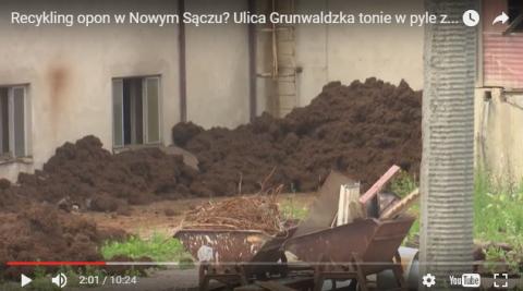 Eko-Curo: WIOŚ nie może zamknąć ich działalności, ale mieszkańcy Grunwaldzkiej śpią spokojniej