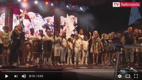 ŚDM w Nowym Sączu: Muzyka, która połączyła serca, koncertowo na Rynku [FILM]
