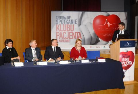 Ponad 600 osób z chorobami układu sercowo-naczyniowego weźmie udział w IV Centralnym Spotkaniu Klubu Pacjenta