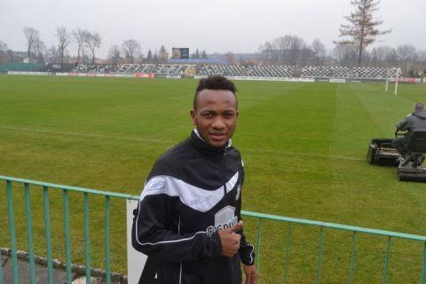 Armand Ella Ken, piłka nożna, Sandecja Nowy Sącz, Sądeczanin.info