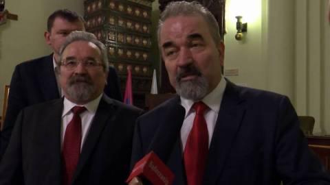 Marian i Józef Koral robią wyjątek i rozmawiają z mediami. Honorowi Obywatele Nowego Sącza dzielą się radością z sądeczanami [FILM]
