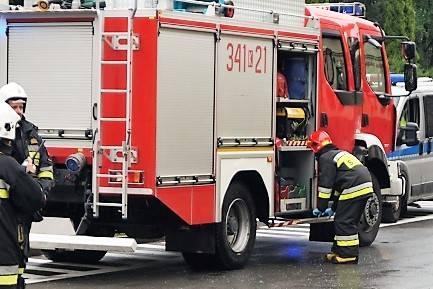 niedziela pracowita dla strażaków