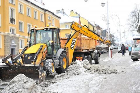 Zimowe utrzymanie dróg w Gminie Limanowa