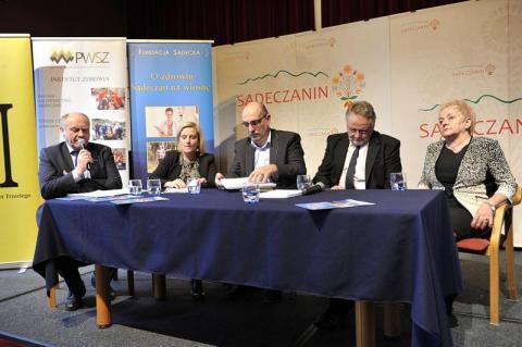 """VII Seminarium """"O zdrowiu Sądeczan na wiosnę"""" - program"""
