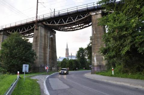 Stary most w Grybowie