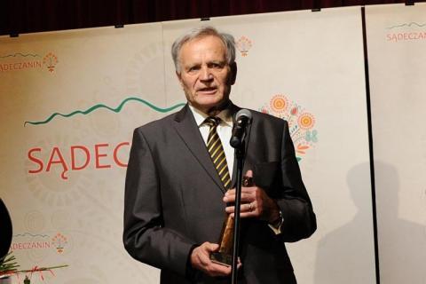 Prof. Bolesław Faron, fot. arch. Sadeczanin.info