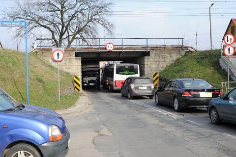 wiadukt na ul. Zielonej, fot. arch Sadeczanin.info