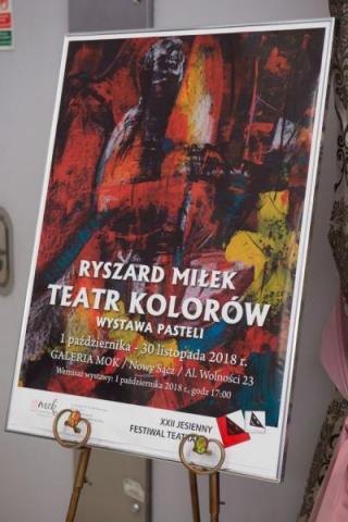 """""""Teatr kolorów"""" Ryszarda Miłka cieszy serce i oczy pomiędzy spektaklami Festiwal"""