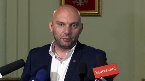 Artur Bochenek, wiceprezydent Nowego Sącza, fot. KS