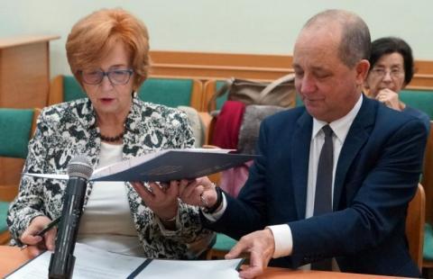 Wiesława Borczyk i Marek Pławiak. Jakie korzyści czerpią z tej współpracy?