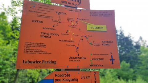 W Polsce można wspaniale wypocząć. Choćby w Beskidach. Fot. tk