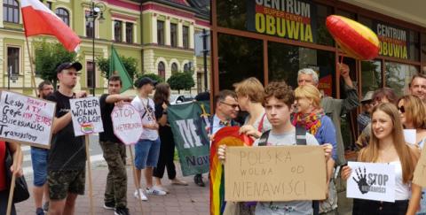 marsze w Nowym Sącz, fot. arch. Sądeczanin.info