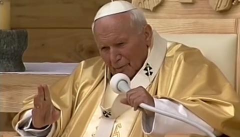 Szukamy zdjęć i wspomnień. Jan Paweł II w Starym Sączu. To było 20 lat temu