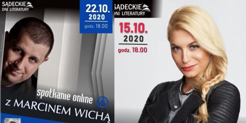 Spotkania autorskie z Katarzyną Bondą i Marcinem Wichą, czyli Sądeckie Dni Literatury