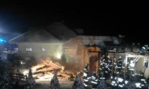 Pożar w Binczarowej