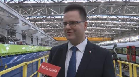 Nowosądecki Newag generatorem polskiej gospodarki