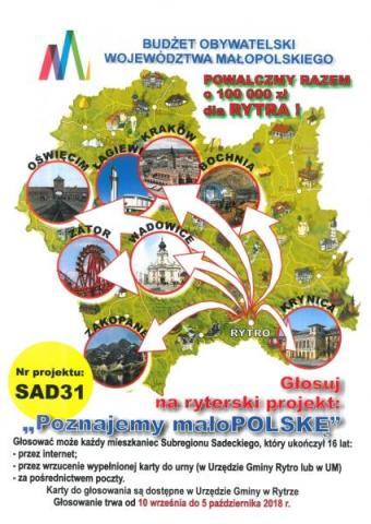 Rytro: miejscowi walczą o 100 tysięcy z BO Małopolski! Na co?