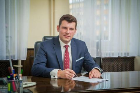 burmistrz Gorlic Rafał Kukla, fot. UM w Gorlicach