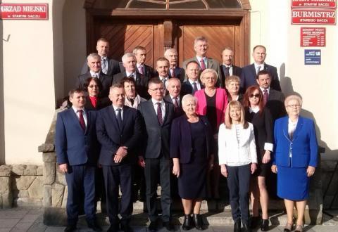 wybory samorządowe 2018, Stary Sącz
