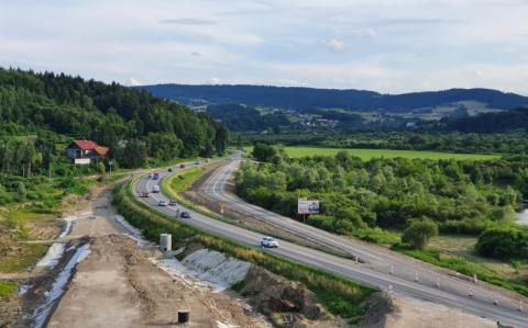 Przez budowę mostu w Kurowie będzie zmiana w organizacji ruchu na DK 75