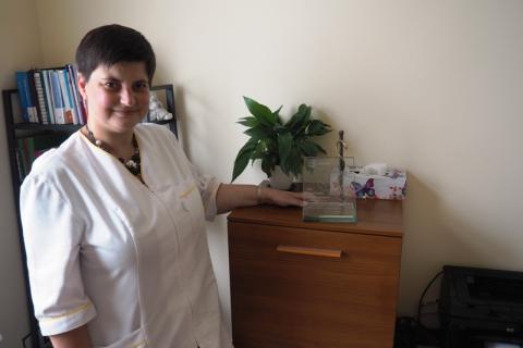 """Doktor Agnieszka Mirek-Zagata, dwukrotna zwyciężczyni plebiscytu: """"Twój sądecki lekarz rodzinny"""" zdradza nam swój przepis, jak być dobrym lekarzem."""