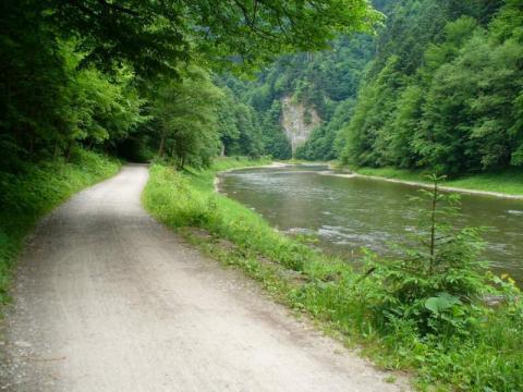 Droga Pienińska w remoncie