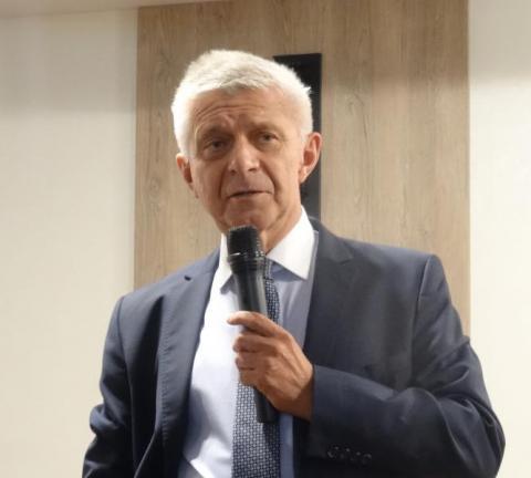 Profesor Marek Belka. Fot. Iga Michalec