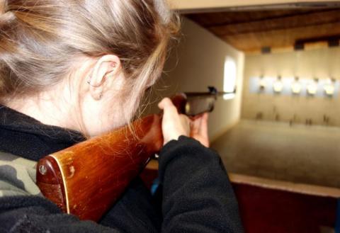 Strach trafić na dziewczyny, które tak strzelają w Nowym Sączu
