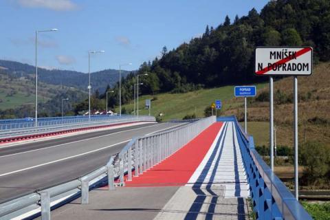 Komisja Europejska zajmie się tematem tranzytu tirów w Dolinie Popradu