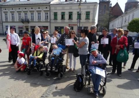 Nowy Sącz niepełnosprawni