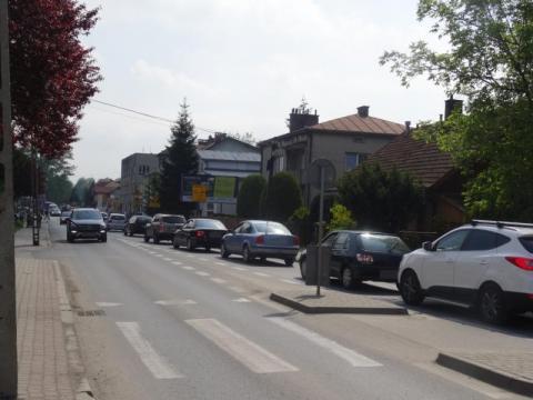 Ulica Krakowska w Nowym Sączu