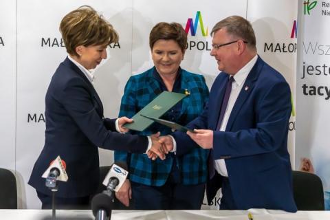 Partnerstwo dla niepełnosprawnych przypieczętowane przez wicepremier Szydło