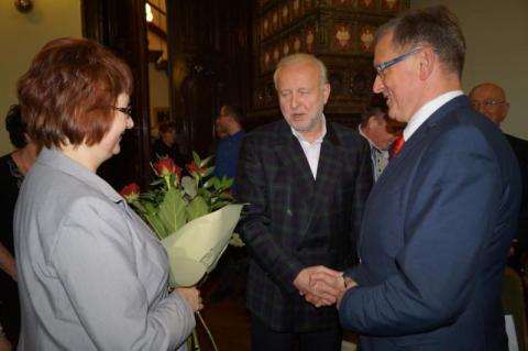 Dyrektor MOPS J. Markiewicz, fot. Iga Michalec