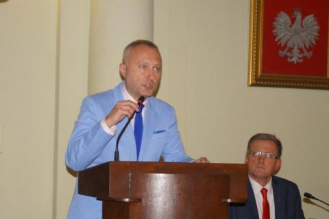 Prezydent Ludomir Handzel, fot. Iga Michalec