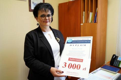 Krystyna Nosal – według was to ona jest najlepszą pielęgniarką w regionie!
