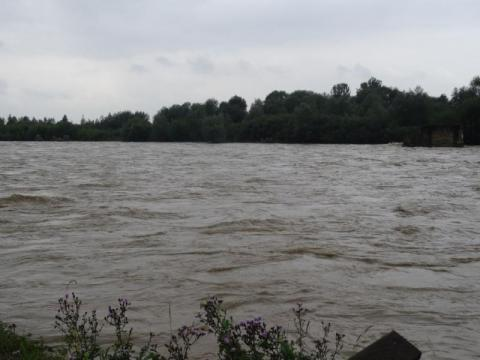 Dunajec opada