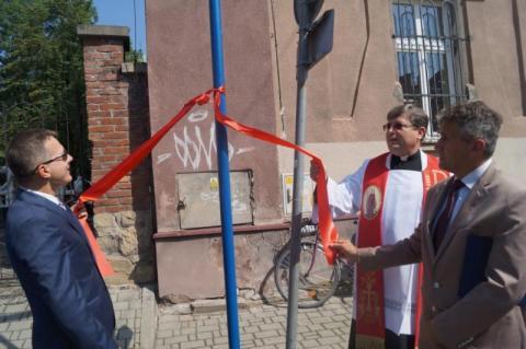 Otwarcie ulicy św. Małgorzaty w Nowym Sączu