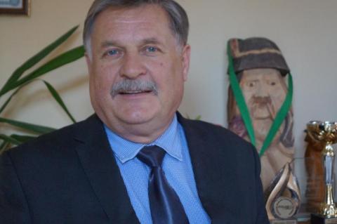 Władysław Wardęga, prezes zarządu Spółdzielni Ogrodniczej Ziemi Sądeckiej.
