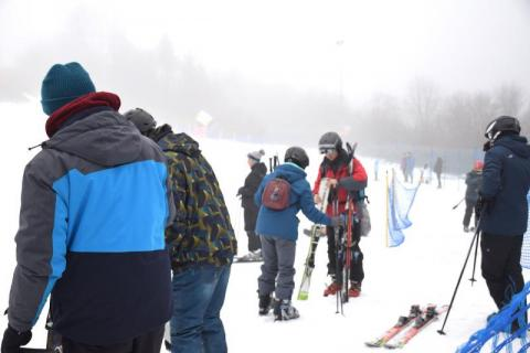 Tylicz: Pierwsi narciarze na stokach. Białe szaleństwo czas zaczynać