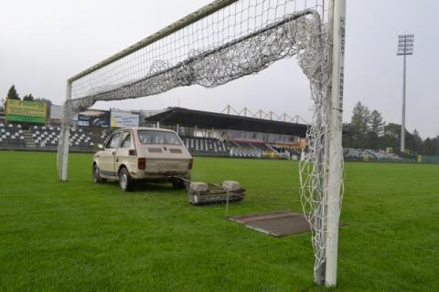 Dla Sandecji z ekstraklasy w pół roku stadion a dla kibiców parking!