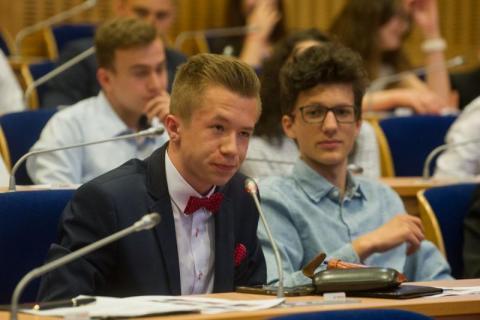 posiedzenia Sejmiku Dzieci i Młodzieży w Małopolsce