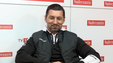 Dariusz Dudek podsumowuje: to był dobry sezon. Na dzisiaj zostaje w Nowym Sączu