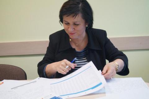 p. Teresa Klimek, dyrektor Powiatowego Urzędu Pracy w Nowym Sączu