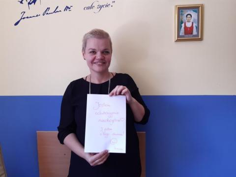 Irmina Michałowicz-Hajduk, dyrektor Szkoły Podstawowej w Czaczowie