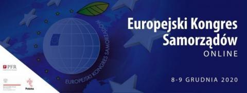 Europejski Kongres Samorządowy Online już 8 i 9 grudnia. Nie przegapcie
