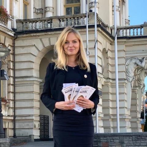 Mecenas Elżbieta Ruchała - adwokat, fundator, jeździec