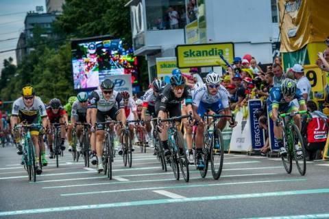 Tour de Pologne w Nowym Sączu