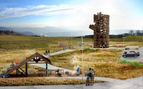 Chełmiec zbuduje stok narciarski! Całoroczny i tuż przy Jeziorze Rożnowskim